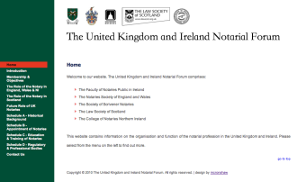 United Kingdom and Ireland Notarial Forum